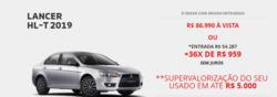 Promoção de Mitsubishi no folheto de Aracaju