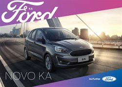 Promoção de Automóveis no folheto de Ford em Caruaru