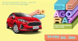 Promoção de Ford no folheto de São Paulo