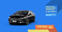 Promoção de Automóveis no folheto de Ford em Jequié