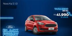 Promoção de Ford no folheto de São Carlos