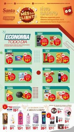 Ofertas de Santo Supermercados no catálogo Santo Supermercados (  Válido até amanhã)
