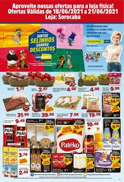 Ofertas de Supermercados no catálogo Confiança Supermercados (  Válido até amanhã)