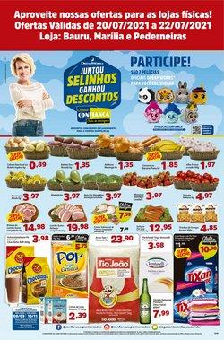 Ofertas de Confiança Supermercados no catálogo Confiança Supermercados (  Vence hoje)