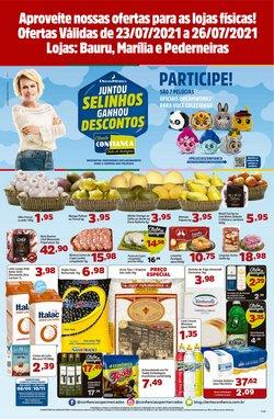 Ofertas de Confiança Supermercados no catálogo Confiança Supermercados (  Publicado hoje)