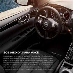 Promoção de Subwoofer no folheto de Nissan em São Paulo