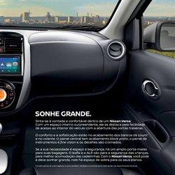 Promoção de Volante no folheto de Nissan em Diadema