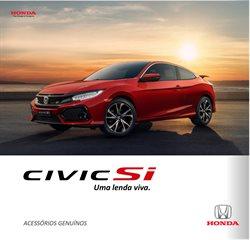Promoção de Automóveis no folheto de Honda em Salvador