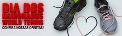 Promoção de Esporte e lazer no folheto de World Tennis em Lauro de Freitas