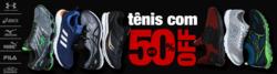 Promoção de Esporte e lazer no folheto de World Tennis em Mauá
