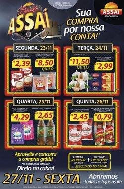 Ofertas Supermercados no catálogo Assaí Atacadista em Rio de Janeiro ( 2 dias mais )