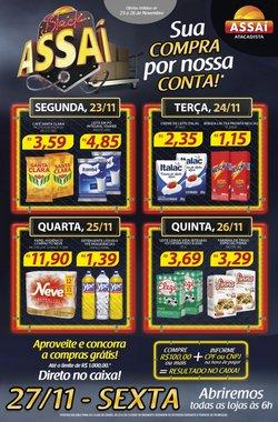 Ofertas Supermercados no catálogo Assaí Atacadista em Fortaleza ( 2 dias mais )