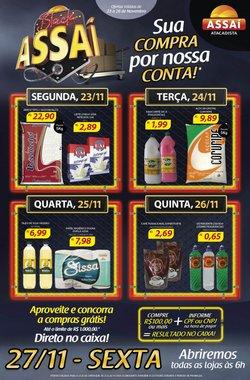 Ofertas Supermercados no catálogo Assaí Atacadista em Belo Horizonte ( 2 dias mais )