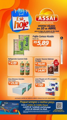 Ofertas Supermercados no catálogo Assaí Atacadista em Sorocaba ( 3 dias mais )