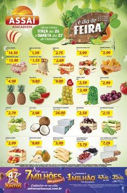 Ofertas de Supermercados no catálogo Assaí Atacadista (  Vence hoje)