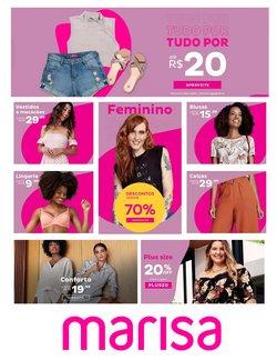 Catálogo Marisa em Belo Horizonte ( Vencido )