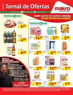 Promoção de Makro no folheto de Belo Horizonte