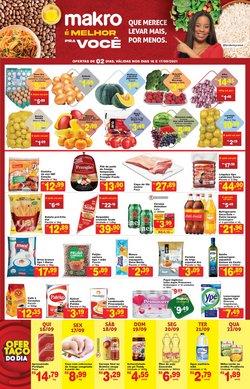 Ofertas de Supermercados no catálogo Makro (  4 dias mais)