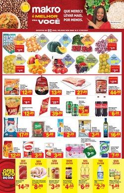Ofertas de Supermercados no catálogo Makro (  3 dias mais)