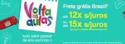 Promoção de Lojas Americanas no folheto de Rio de Janeiro