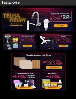 Ofertas Material de Construção no catálogo Telhanorte em Taboão da Serra ( Vence hoje )