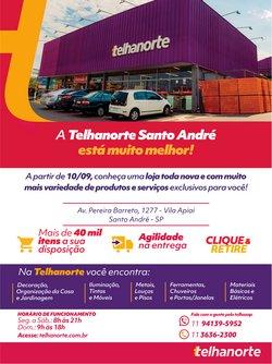 Ofertas de Material de Construção no catálogo Telhanorte (  3 dias mais)