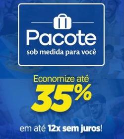 Promoção de Decolar no folheto de São Paulo