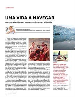 Promoção de Cruzeiros no folheto de Avianca em São Paulo