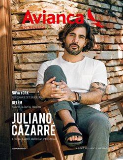 Promoção de Avianca no folheto de São Paulo