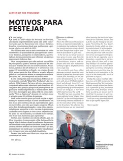 Promoção de Vôos no folheto de Avianca em São Paulo