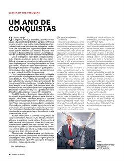 Promoção de Transporte no folheto de Avianca em São Paulo