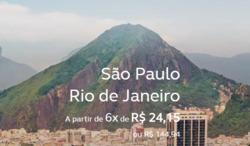 Promoção de Viagens, passeios, turismo no folheto de Avianca em São Paulo