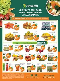 Ofertas de Supermercados no catálogo Enxuto (  Vence hoje)