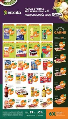 Ofertas de Supermercados no catálogo Enxuto (  Publicado hoje)