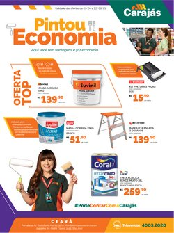 Ofertas de Material de Construção no catálogo Carajás (  8 dias mais)
