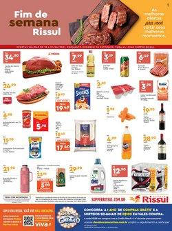 Ofertas de Supermercados no catálogo Supper Rissul (  Vence hoje)