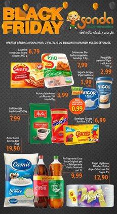 Ofertas Supermercados no catálogo Sonda Supermercados em Taboão da Serra ( Vence hoje )