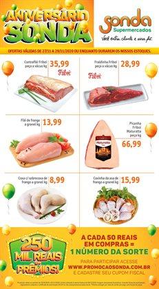 Ofertas Supermercados no catálogo Sonda Supermercados ( Válido até amanhã )