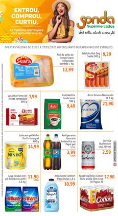 Catálogo Sonda Supermercados em São Caetano do Sul ( 2 dias mais )