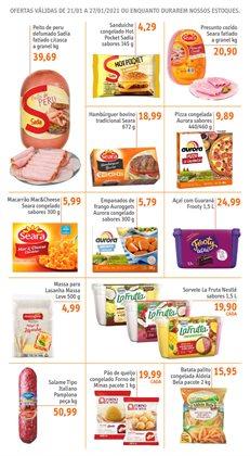 Ofertas de Lanches em Sonda Supermercados