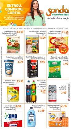 Ofertas Supermercados no catálogo Sonda Supermercados em Santos ( Publicado hoje )