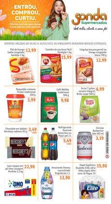 Catálogo Sonda Supermercados ( Publicado ontem )