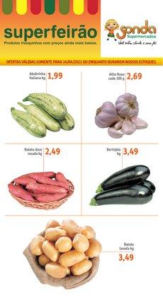Ofertas Supermercados no catálogo Sonda Supermercados em Campinas ( Vence hoje )
