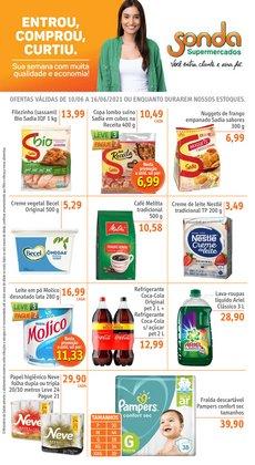 Ofertas de Supermercados no catálogo Sonda Supermercados (  Válido até amanhã)