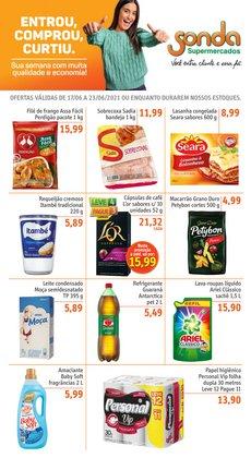 Catálogo Sonda Supermercados (  4 dias mais)