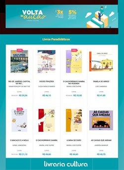 Catálogo Livraria Cultura ( Vencido )