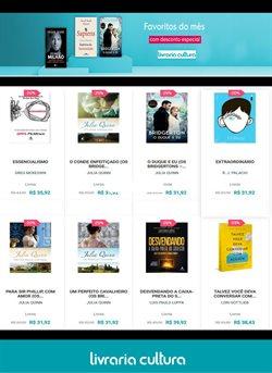 Ofertas Livraria, Papelaria e Material Escolar no catálogo Livraria Cultura em São Gonçalo ( 3 dias mais )