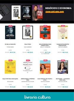 Ofertas Livraria, Papelaria e Material Escolar no catálogo Livraria Cultura em São Paulo ( 7 dias mais )