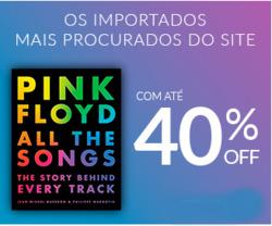Promoção de Livraria, papelaria, material escolar no folheto de Livraria Cultura em São Paulo