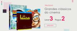 Promoção de Livraria, papelaria, material escolar no folheto de Livraria Cultura em São Caetano do Sul